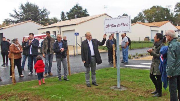 Inauguration Clos du Parc à La Crèche